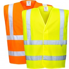 Portwest Hi-Viz Anti Static Vest - Flame Resistant