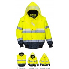 Portwest Glowtex 3 in1 Jacket