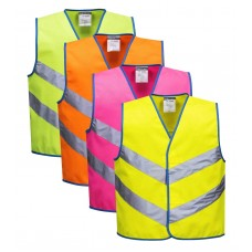 Portwest Hi-Viz Junior Colour Bright Vest