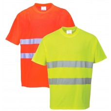 Portwest H-Viz Cotton Comfort T-Shirt
