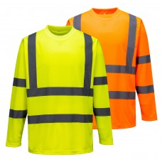 Portwest H-Viz Long Sleeved T-Shirt
