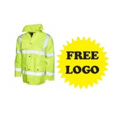 Hi-Viz Coat with Free Logo