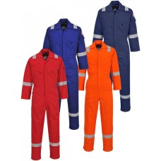 Portwest Flame Resistant Light Weight Anti-Static Coverall