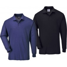 Genoa long sleeved polo shirt