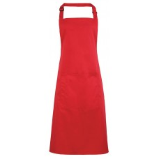 Premier Colours Bib Apron With Pocket