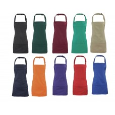 Premier Colours 2-in-1 Short Bib Apron