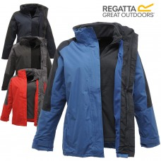 Regatta Professional Women's Defender Warm Outdoor Fleece Coat 3in1 Jacket