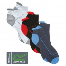 Regatta Activewear Sports Wear Unisex Ankle Socks Anti Blisters