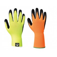 Portwest Hi Vis Grip Breathable Long Cuff Gloves