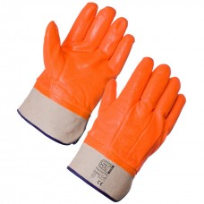 Thermal PVC Hi Vis Gloves